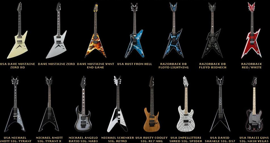 Гитары Dean