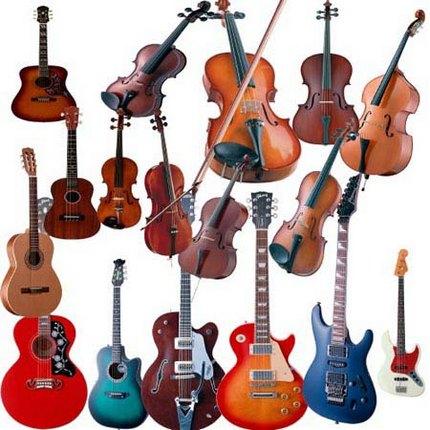 Музыкальные инструменты из-за рубежа