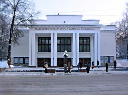 Нижегородском оперном театр