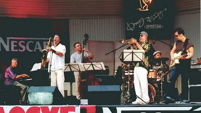фестиваль Джаз в саду Эрмитаж