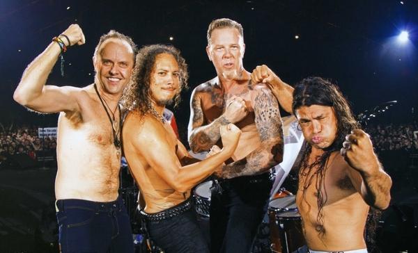 Совместный концерт Metallica и Iron Maiden