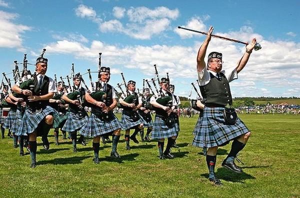 Народная музыка и танцы Шотландии