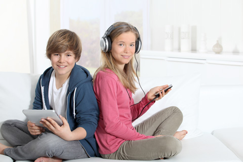Музыка помогает
