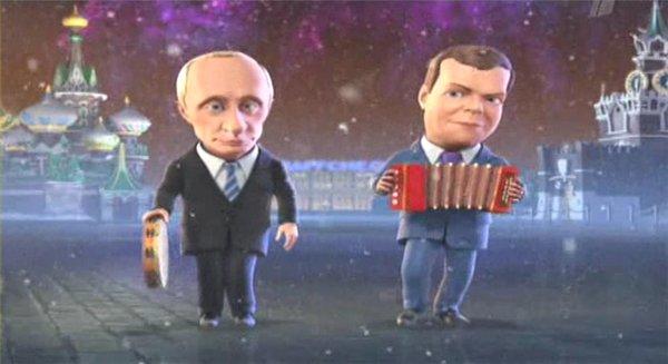Какую музыку слушают Путин и Медведев?