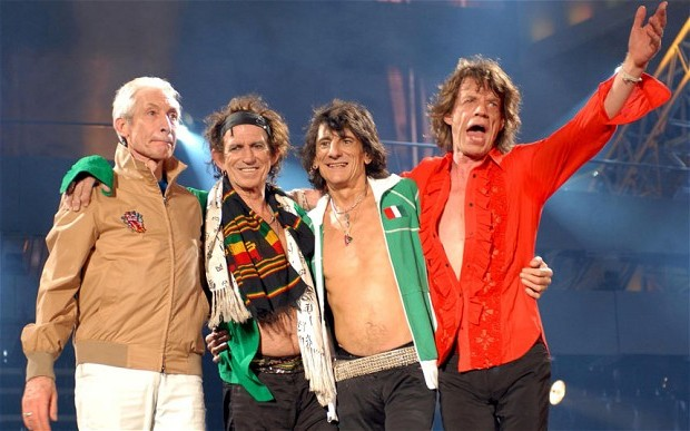 Rolling Stones полвека, как кумиры