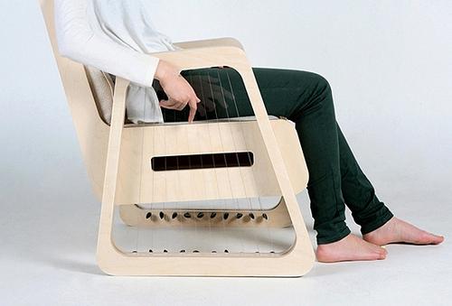 Echoism Chair — музыкальное кресло от Джейянга Чана