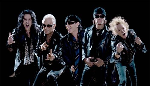 Scorpions на юбилее Газпрома