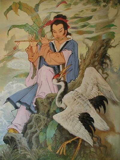 Ли Мо – флейтист из династии Тан