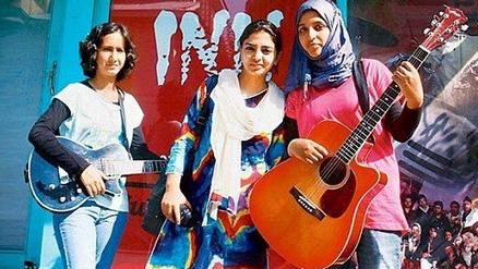 В Кашмире распалась первая женская рок-группа Pragaash