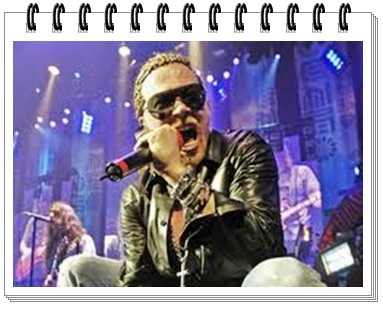 Поклонник Guns N'Roses подал иск за выбитый зуб, на всем известного  Акселя Роуза!