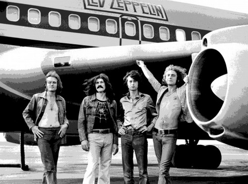 Билл Клинтон попробовал объединить группу Led Zeppelin