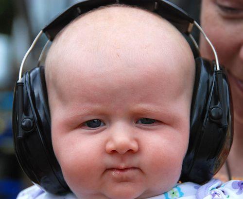 Музыка, как детское обезбаливающее
