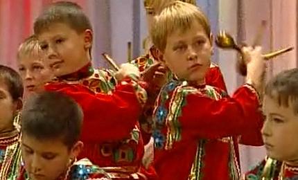 Детский ансамбль ложкарей удостоился крупной денежной премии