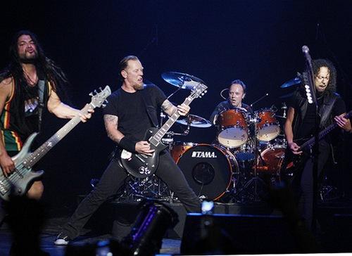 Metallica выступят на южном полюсе