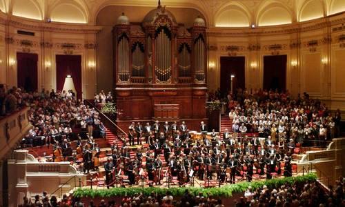 Творческая Москва в ожидании выступления Королевского оркестра