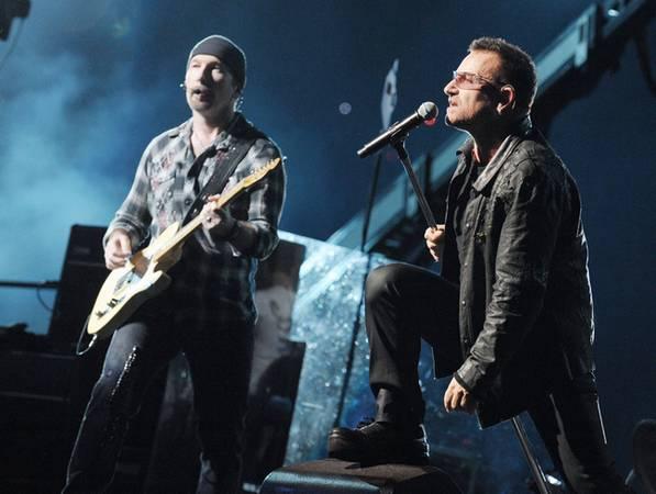 Хит от U2 стал самой вдохновляющей песней