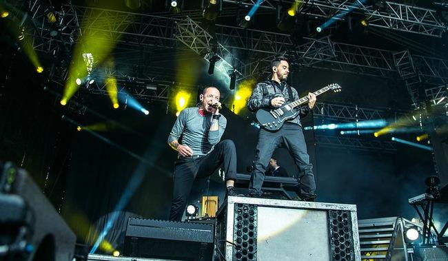 Значимый след Linkin Park на Рок-аллее
