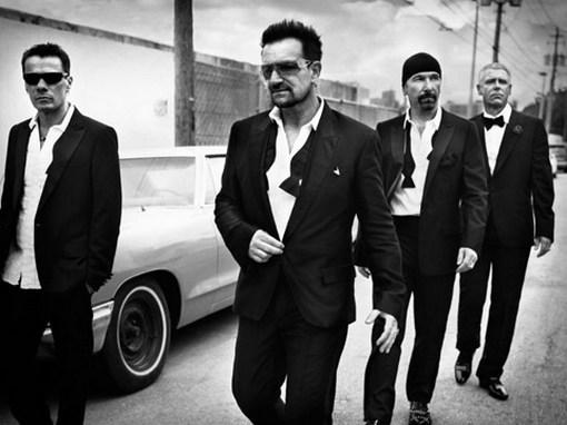 Клип на новую песню U2 и яблочный скандал