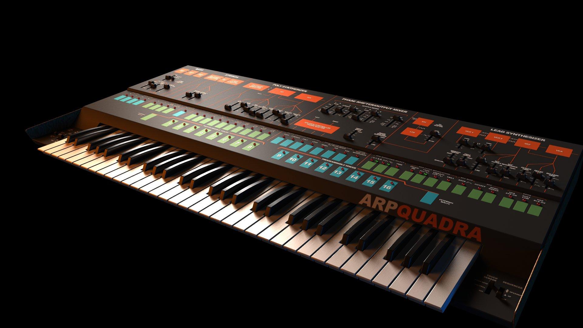 Синтезаторы – обои на рабочий стол